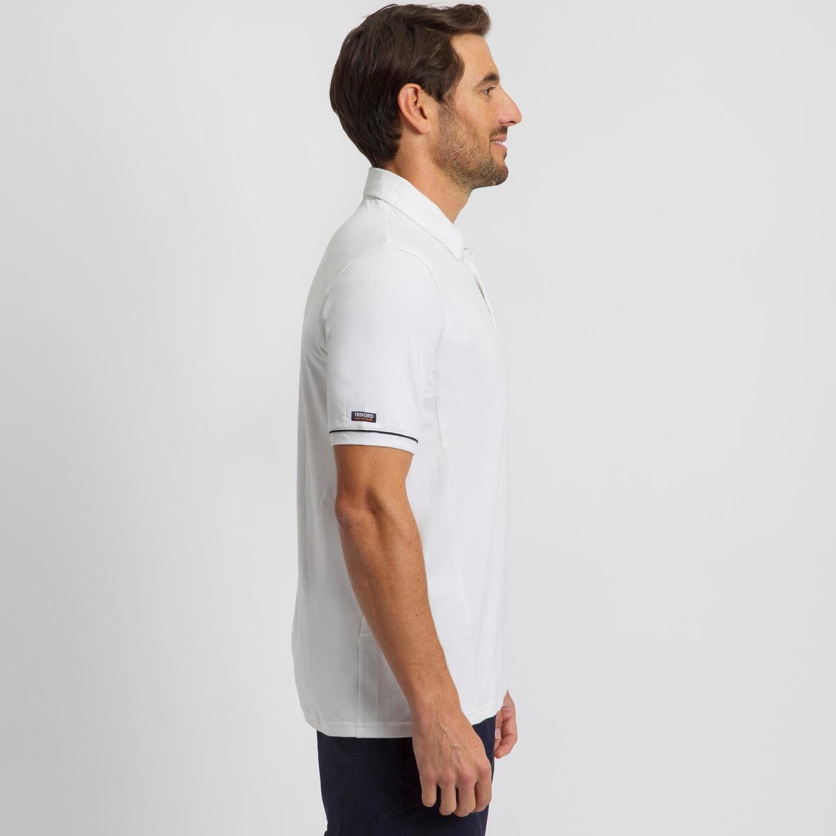 Bild 3 von Poloshirt kurzarm Sailing 100 Herren weiß