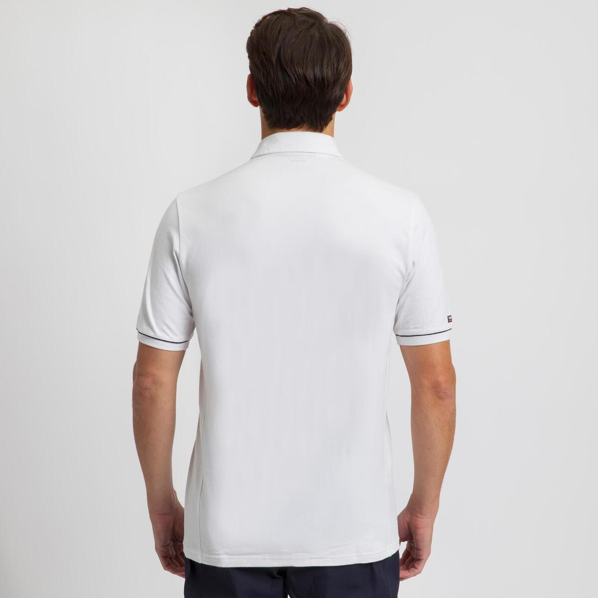 Bild 4 von Poloshirt kurzarm Sailing 100 Herren weiß