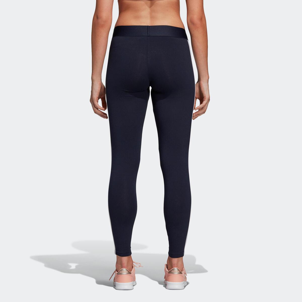 Bild 4 von ADIDAS Leggings 3 Streifen Gym Damen blau