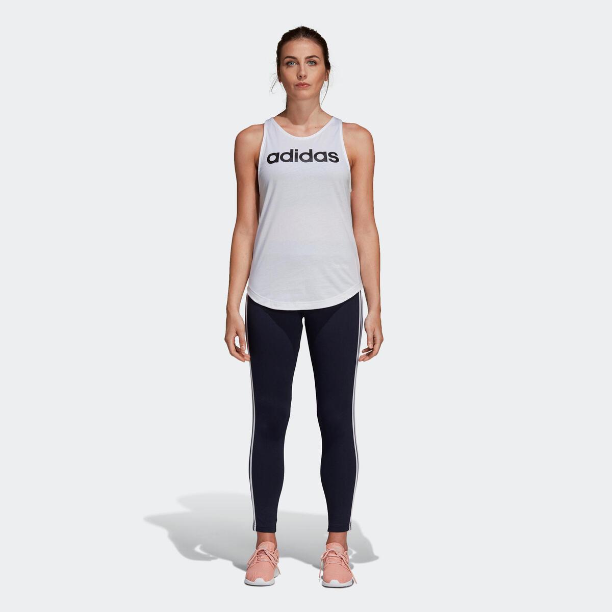 Bild 5 von ADIDAS Leggings 3 Streifen Gym Damen blau