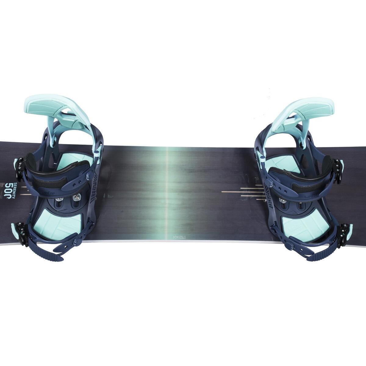 Bild 3 von Snowboard-Set Piste & Freeride Serenity 500 Damen