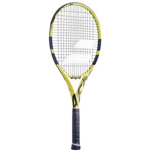 Tennisschläger Aero G besaitet Erwachsene schwarz/gelb
