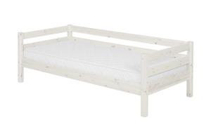Bett mit hinterer Absturtzsicherung