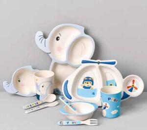 5-tlg. Kinder-Geschirr-Set