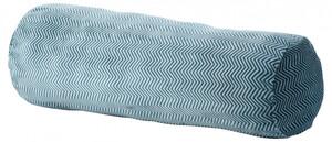 Gözze Kissenrolle  Fischgrät 70 x 22 cm, petrol