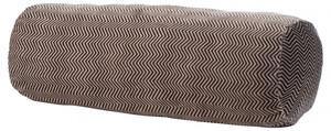 Gözze Kissenrolle Fischgrät 70 x 22 cm, taupe