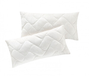 FAN Kissen Schafwolle 2er Pack, gesteppt mit Reißverschluss