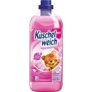 Kuschelweich Weichspülerkonzentrat Pink Kiss, 31WL 0.03 EUR/1 WL