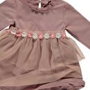 Bild 3 von Baby Mädchen Kleid mit Blumenverzierung
