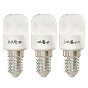 I-Glow Spezial LED Leuchtmittel - Kühlschranklampe - 3er Set