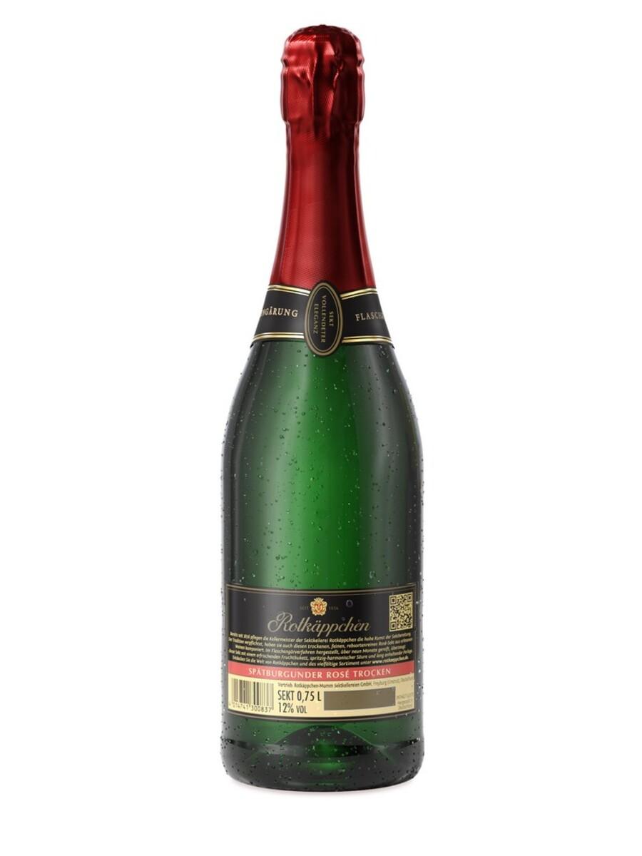 Bild 3 von Rotkäppchen Sekt Flaschengärung Spätburgunder Rosé Trocken