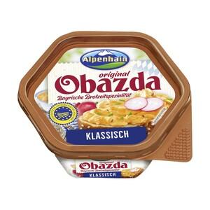 Alpenhain Obazda oder Camembert Creme,   50/52% Fett i. Tr. jede 125-g-Packung