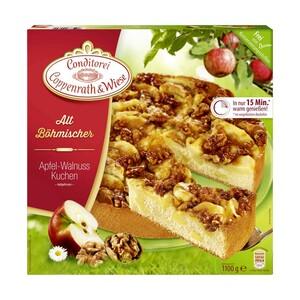 Coppenrath & Wiese Alt Böhmische Kuchen oder Kuchen Liebe * * * gefroren, versch. Sorten,  jede 1100/900-g-Packung