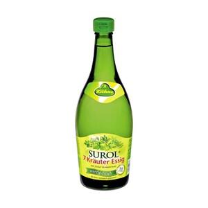 Kühne Surol 7-Kräuter Essig 5 % Säure, jede 750-ml-Flasche