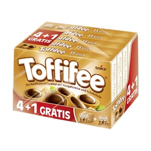 Toffifee 4 + 1 Gratis jede 625-g-Packung