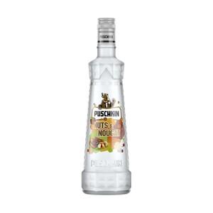 Puschkin Vodka oder Nuts Nougat 37,5/ 17,5 % Vol.,  und weitere Sorten,  jede 0,7-l-Flasche