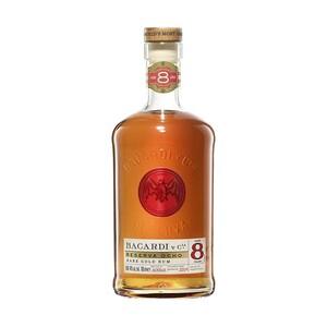 Bacardi 8 Anos 40 % Vol., jede 0,7-l-Flasche