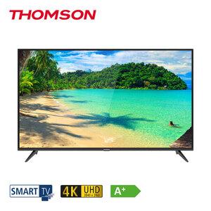 """43UD6306 • 2 x HDMI, USB, CI+ • geeignet für Kabel-, Sat- und DVB-T2-Empfang • Maße: H 57,2 x B 97 x T 7,8 cm • Energie-Effizienz A (Spektrum A++ bis E), Bildschirmdiagonale: 43""""/108 cm"""