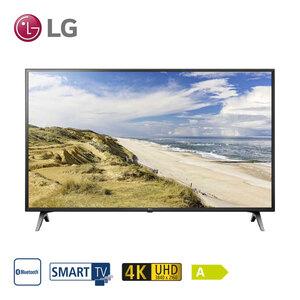 49UM71007LB • TV-Aufnahme über USB • 3 x HDMI, 2 x USB, CI+ • geeignet für Kabel-, Sat- und DVB-T2-Empfang • Maße: H 64,9 x B 110,8 x T 8 cm • Energie-Effizienz A (Spektrum A++ bis E), B