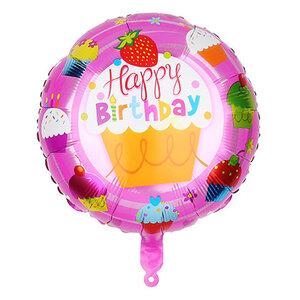 Folienballon Happy Birthday