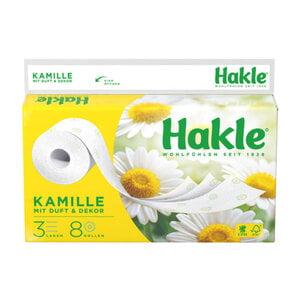 """Hakle Toilettenpapier """"Kamille"""" 8 Rollen"""