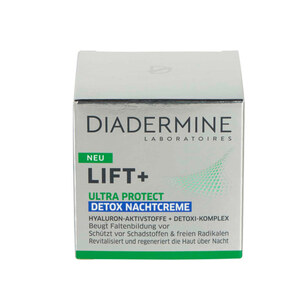 Diadermine Nachtcreme Detox Ultra Protect Lift+ 50 ml
