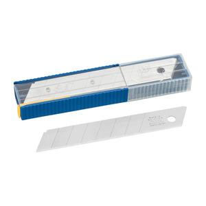 Abbrechklingen 18 mm 10 Stück im Dispenser