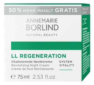 ANNEMARIE BÖRLIND  LL REGENERATION Vitalisierende Nachtcreme 50 ml + 25 ml gratis