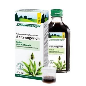 Schoenenberger  Naturreiner Heilpflanzensaft Spitzwegerich