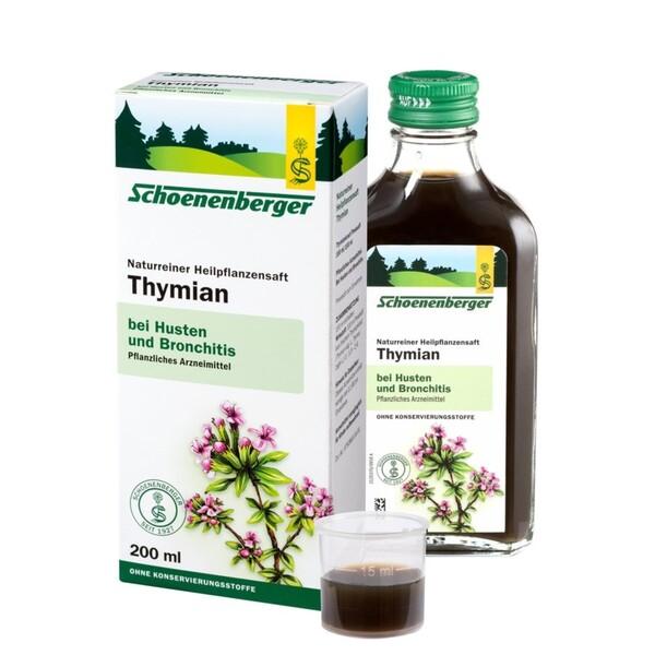 Schoenenberger  Naturreiner Heilpflanzensaft Thymian
