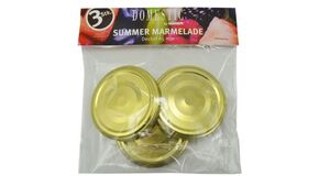MÄSER Deckel Summer Marmelade Ø 65 mm 3er Pack