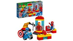 LEGO DUPLO - 10921 Iron Mans Labor-Treffpunkt