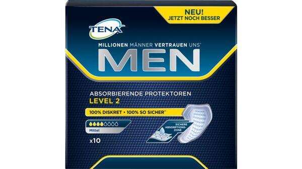 TENA FOR MEN Level 2 Hygieneeinlagen 10  Stück