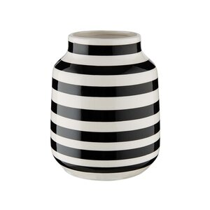 MALIKA Vase gestreift Ø13,5cm
