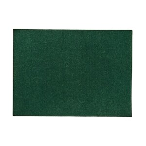 6x Tischset 33x45cm dunkelgrün