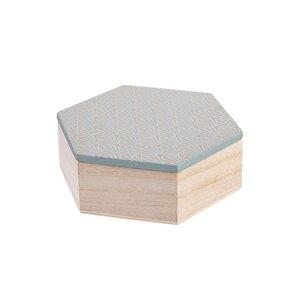 ARTS & CRAFTS Box Hexagon Größe S