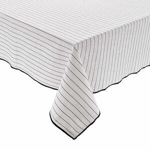 COPENHAGEN Tischdecke Streifen 160x160cm