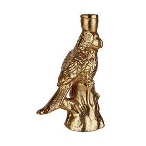 GOLDEN NATURE Kerzenhalter Papagei