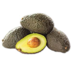 Angereifte Avocado