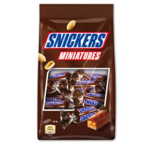 SNICKERS-, TWIX-, MARS- oder BOUNTY- Miniatures
