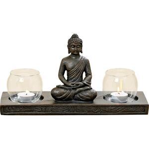 Windlichthalter Buddha L32 cm