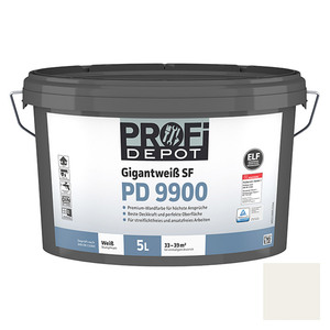Profi Depot PD Wandfarbe Gigantweiß SF PD 9900