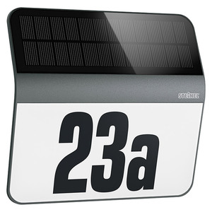 Steinel XSolar Solar-Hausnummer LH-N