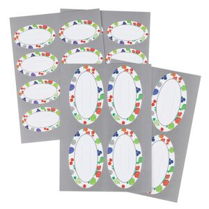 Einmachglas-Aufkleber 24 Stück
