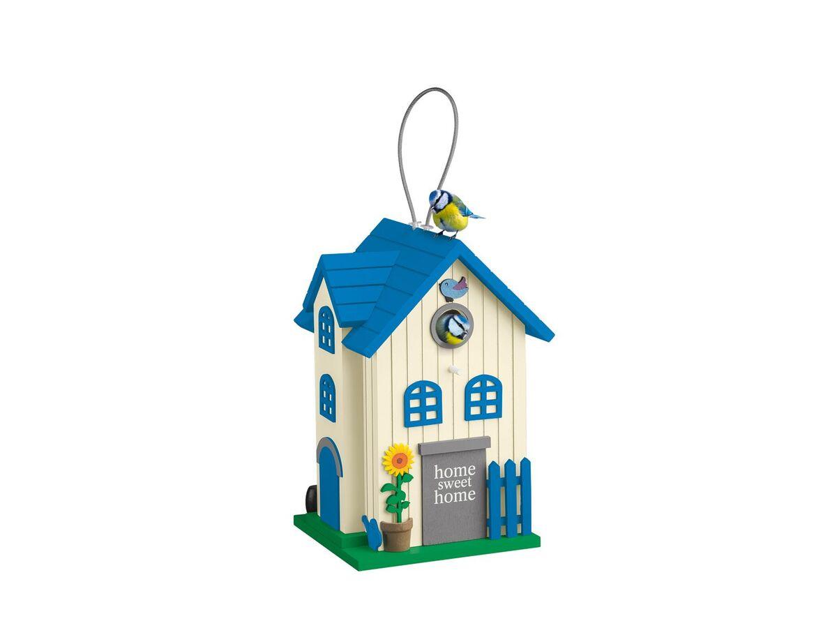Bild 3 von FLORABEST Vogelhaus, mit Aufhängeschlaufe und verschließbarer Reinigungsklappe, aus Holz