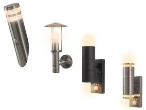 LIVARNO LUX® Außenleuchte mit Bewegungsmelder, mit LEDs, aus Edelstahl