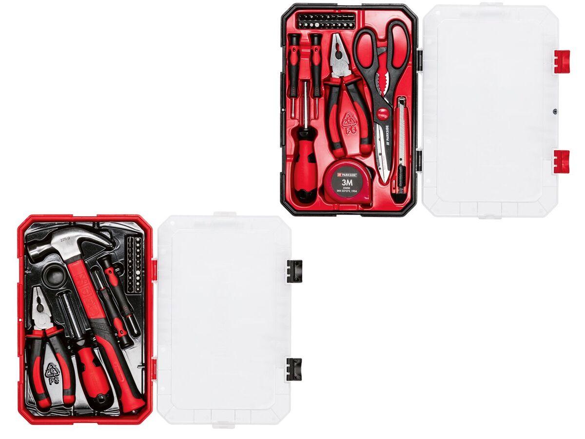 Bild 1 von PARKSIDE® Haushaltswerkzeug Set, 27-teilig, mit Kunststoffbox