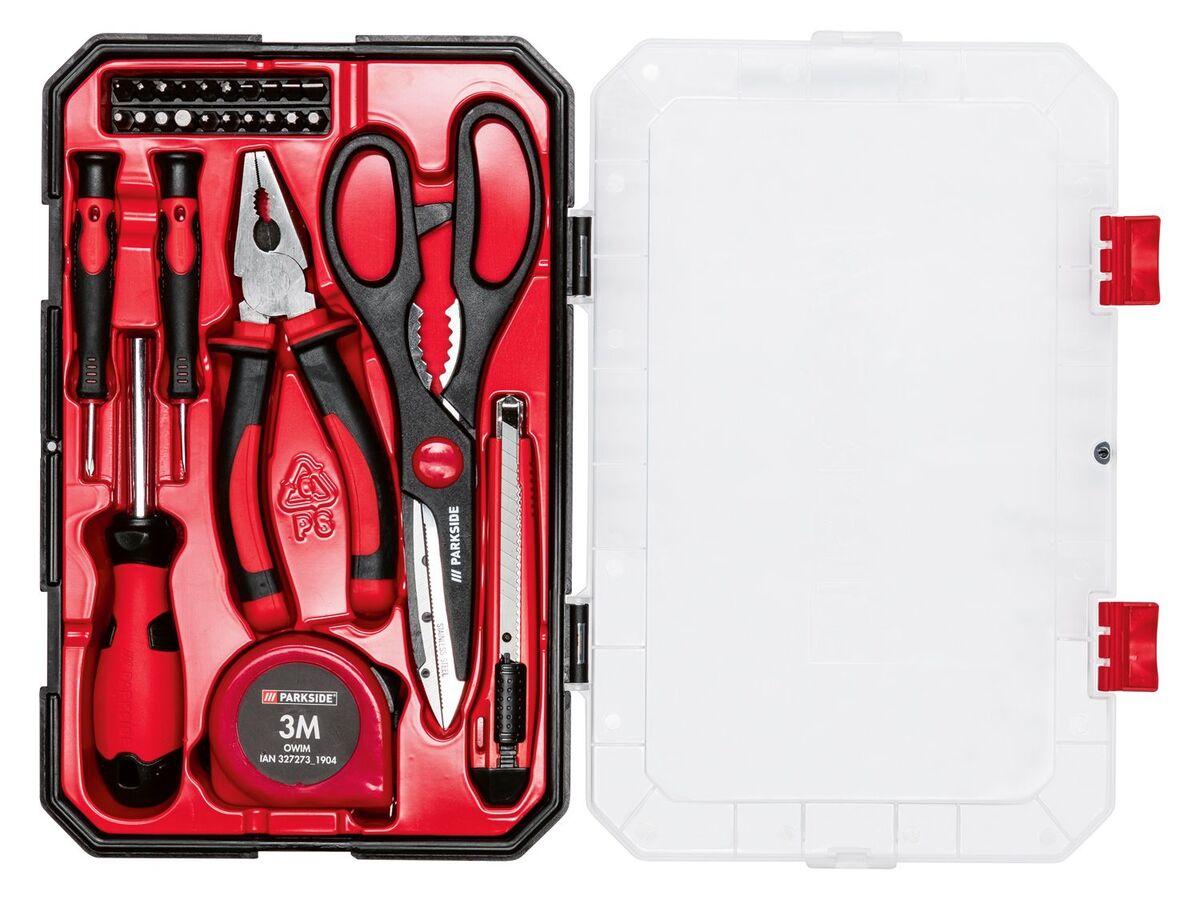 Bild 2 von PARKSIDE® Haushaltswerkzeug Set, 27-teilig, mit Kunststoffbox