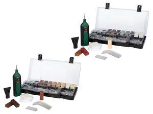 PARKSIDE® Reparaturset, für Fliesen, Laminat oder Parkett, mit Aufbewahrungsbox