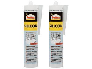 Pattex 2 Sanitärsilikon transparent 310 ml